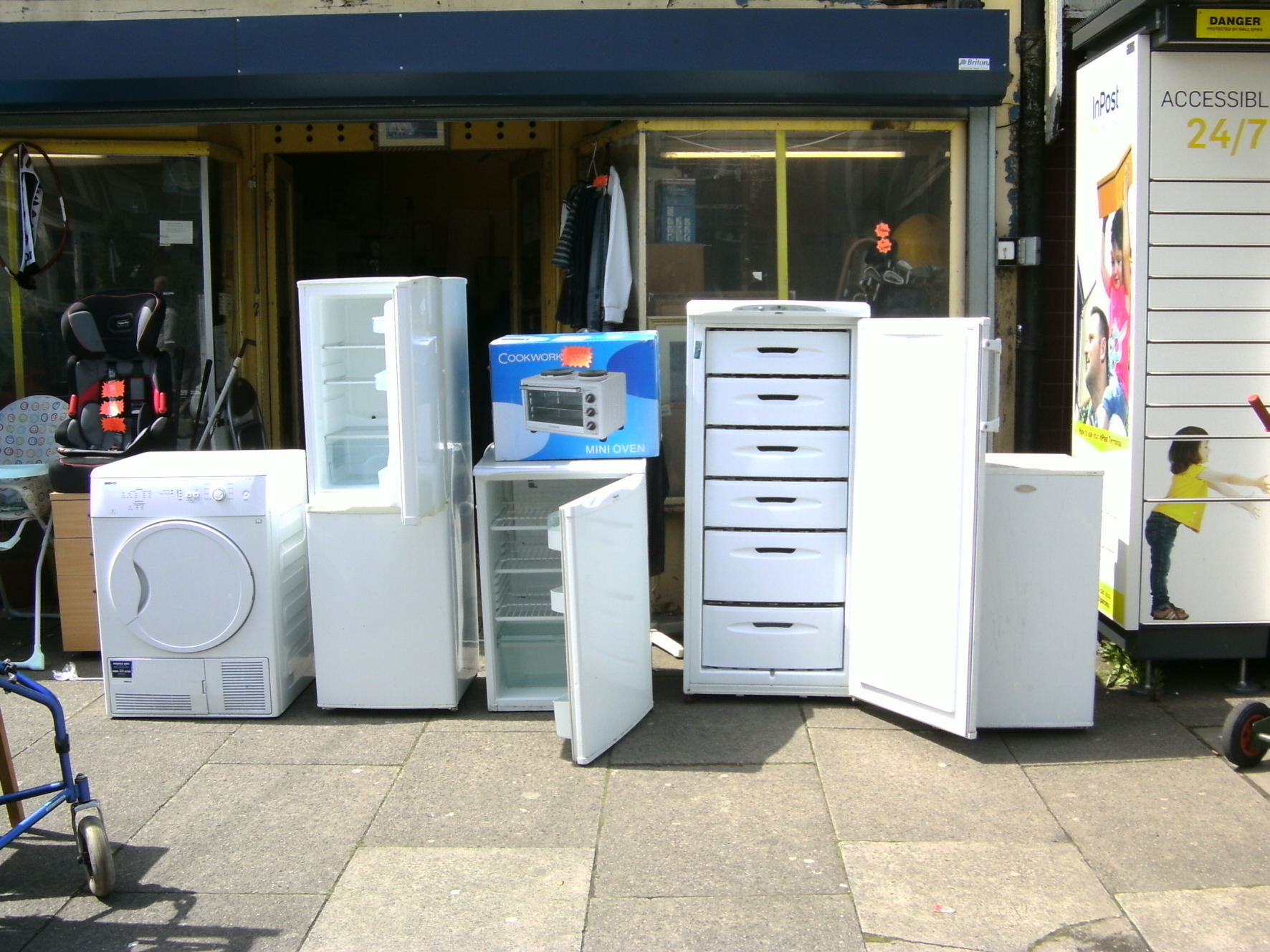 Sell Second Hand Kitchen Appliances
